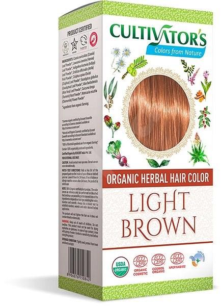 CULTIVATOR Natural 6 világosbarna (4 × 25 g) - Természetes hajfesték