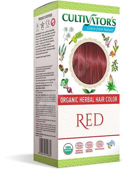 CULTIVATOR Natural 13 piros (4 × 25 g) - Természetes hajfesték
