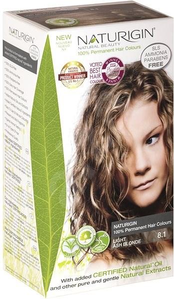 NATURIGIN Light Ash Blonde 8.1 (40ml) - Természetes hajfesték
