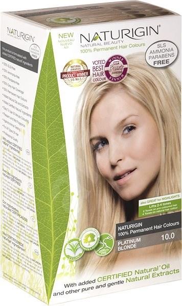 NATURIGIN Platinum Blonde 10.0 (40 ml) - Természetes hajfesték