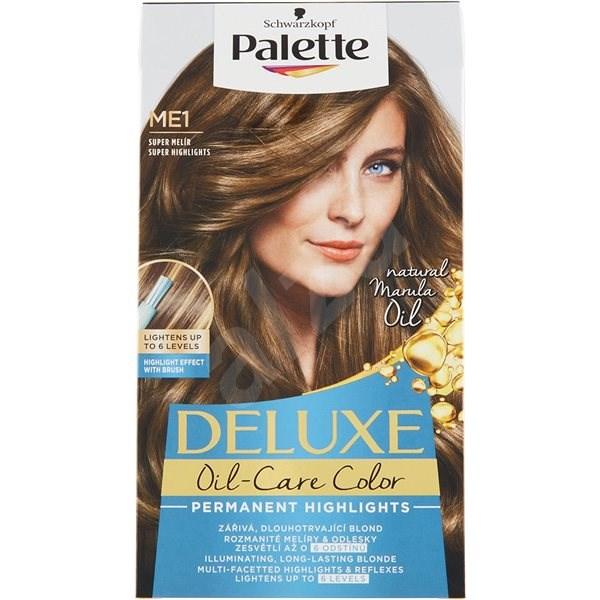SCHWARZKOPF PALETTE Deluxe Blond ME1 Super melírozó hajfesték 50 ml - Hajvilágosító