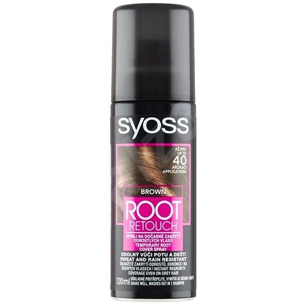 SYOSS Root Retoucher - Barna, 120 ml - Hajtőszínező spray