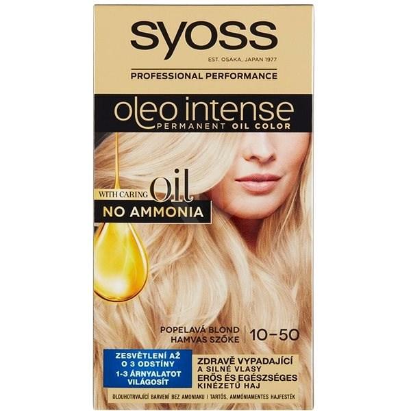 SYOSS Oleo Intense 10 50 Hamvas szőke (50 ml)