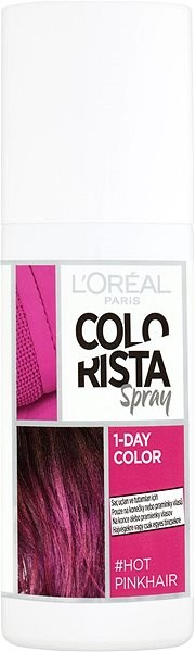ĽORÉAL PARIS Colorista Spray 1-Day Color - Hot Pink Hair, 75 ml - Hajszínező spray