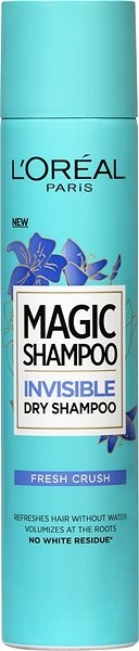 ĽORÉAL PARIS Magic Invisible Dry Shampoo Fresh Crush 200 ml - Szárazsampon