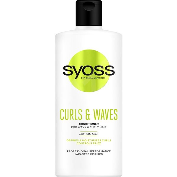 SYOSS Curls & Waves Conditioner 500 ml - Hajbalzsam