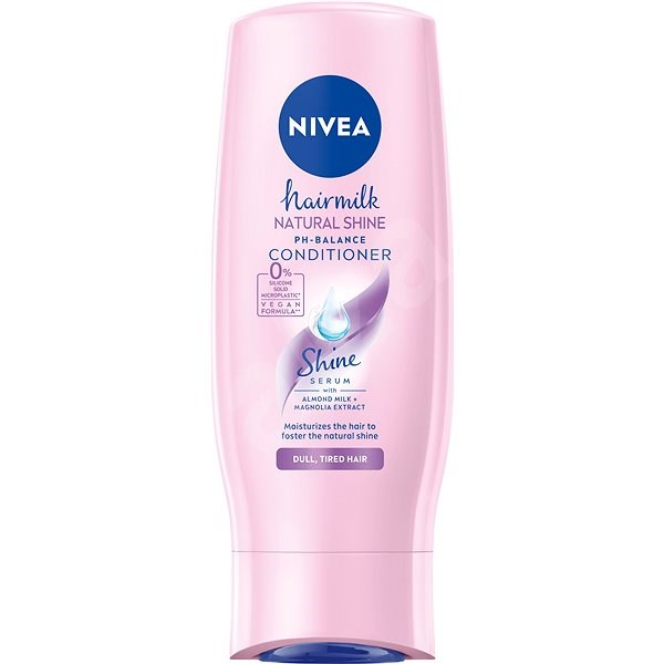 NIVEA Hairmilk Shine Conditioner 200 ml - Hajbalzsam