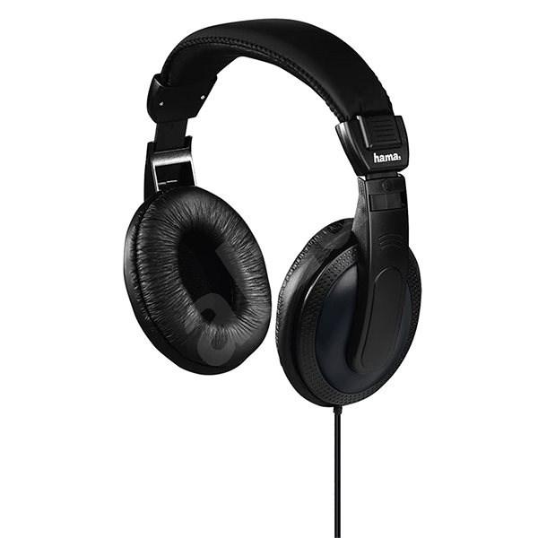 Hama Basic4TV fekete - Fej-/fülhallgató