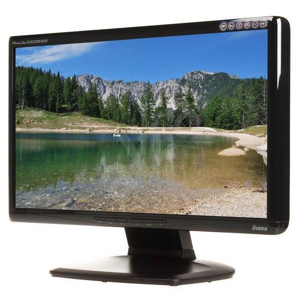 """20"""" iiyama ProLite E2008HDS Black - LCD monitor"""