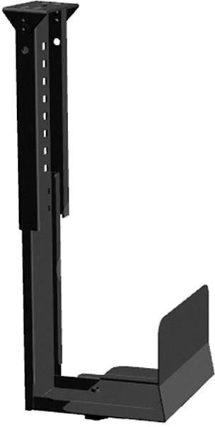 Roline asztallap alatti PC tartó, fekete - PC tartó