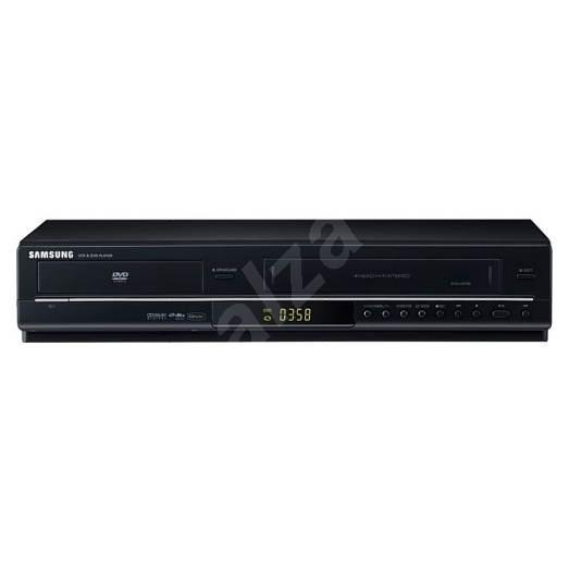 Samsung DVD-V6700 stolní VHS rekordér a přehrávač DVD, SVCD, DivX, MP3, CD, JPEG černý (black) -