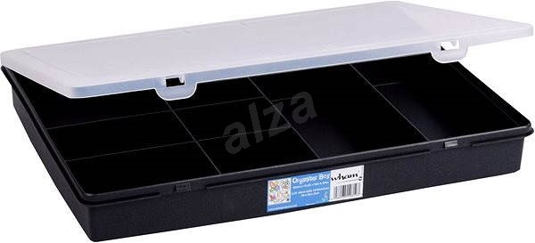 Wham tároló doboz 38x30x5cm fekete 12890 - Szerszám rendszerező