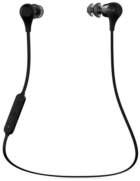 NuForce BE2 Fekete - Mikrofonos fej- fülhallgató  3c3a40910d