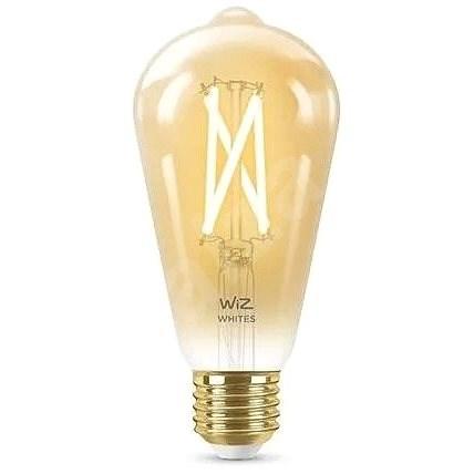 WiZ Warm White Filament  ST64 E27 Amber Wifi okosizzó - LED izzó