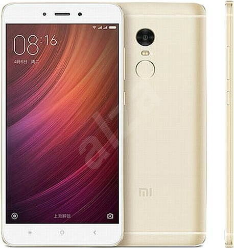 Xiaomi Redmi Note 4 64 GB Gold - Mobiltelefon