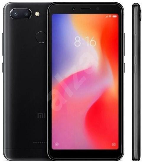 Xiaomi Redmi 6 3GB/64GB LTE, fekete - Mobiltelefon