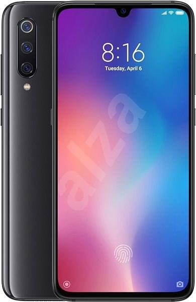 Xiaomi Mi 9 LTE 128GB, fekete - Mobiltelefon