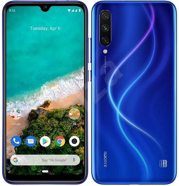 Xiaomi Mi A3 LTE 128GB, kék - Mobiltelefon