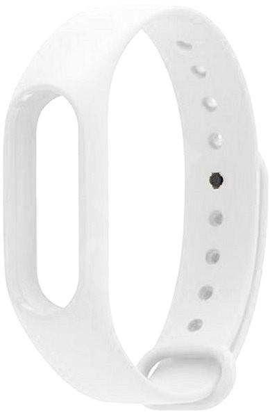 Xiaomi Mi Band 2 fitness karkötő bőrszíj Fehér
