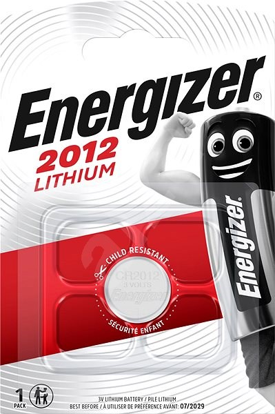 Energizer líthium gombelem CR2012 - Gombelem