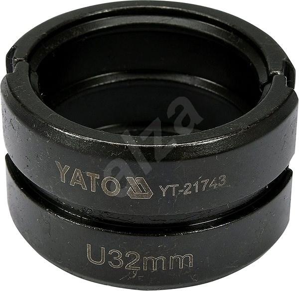 """YATO """"U"""" típus 32mm YT-21735-höz - Préselőpofák"""