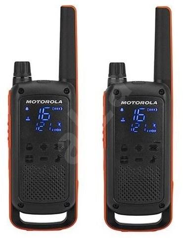 Motorola TLKR T82, narancs / fekete - Walkie Talkie