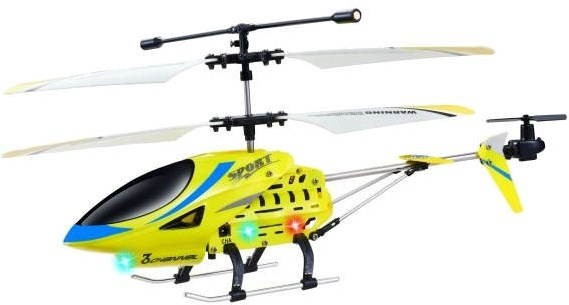 Fleg Helicopter Gyro Yellow  - RC model