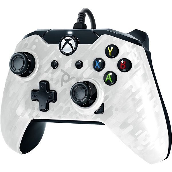 PDP Wired Controller - Xbox One - fehér terepminta - Kontroller