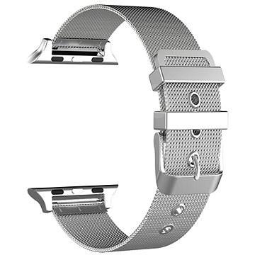 Eternico 38mm / 40mm Mesh Metal Band ezüst Apple Watch-hoz - Szíj