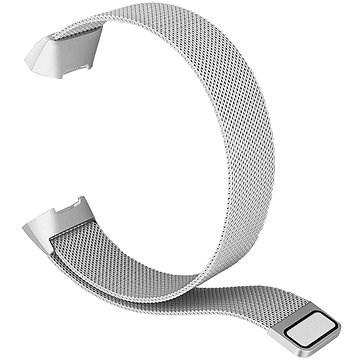 Eternico Fitbit Charge 3 / 4 Steel - ezüst (Small) - Szíj