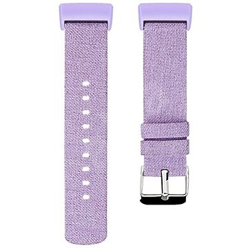 Eternico Fitbit Charge 3 / 4 Canvas, lila (Small) - Szíj