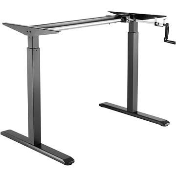 AlzaErgo Table ET3 fekete - Asztal