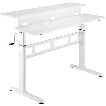 AlzaErgo ET3.1 táblázat fehér - Asztal