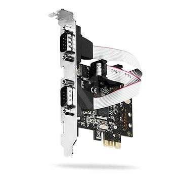 AXAGO PCEA-S2 PCI - Soros Bővítőkártya  2db RS232 serial port - Bővítőkártya