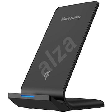 AlzaPower WF210 Wireless Fast Charger black - Vezeték nélküli töltő