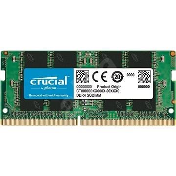 Crucial SO-DIMM 8 GB DDR4 2400 MHz CL17 Single Ranked x8 - Rendszermemória
