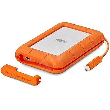 """LaCie 2.5"""" Rugged 5TB Thunderbolt USB-C - Külső merevlemez"""