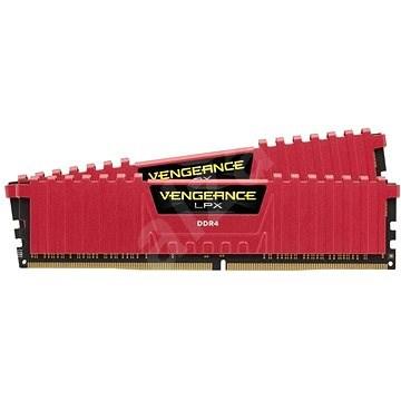 Corsair 16GB KIT DDR4 3200MHz CL16 Vengeance LPX piros - Rendszermemória