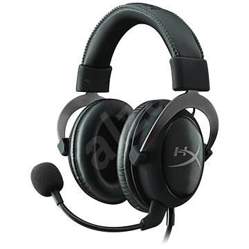 HyperX Cloud II fülhallgató Gunmetal Grey - Gamer fejhallgató