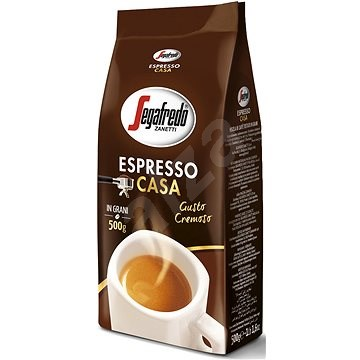 Segafredo Espresso Casa - szemes kávé 500 g - Kávé