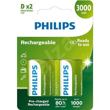 Philips R20B2A300 2 darab - Akkumulátor