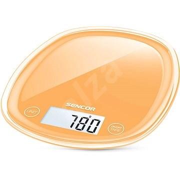 Sencor SKS Pastels 33OR narancs - Konyhai mérleg