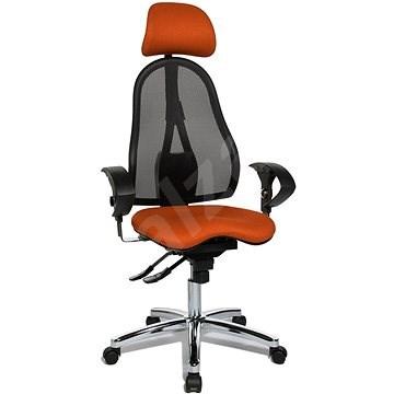 TOPSTAR Sitness 45 narancssárga - Irodai szék