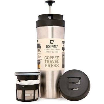 Espro Travel Press rozsdamentes acél - Dugattyús kávéfőző