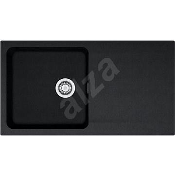Franke OID 611 fekete 940x510mm - Tektonit mosogató