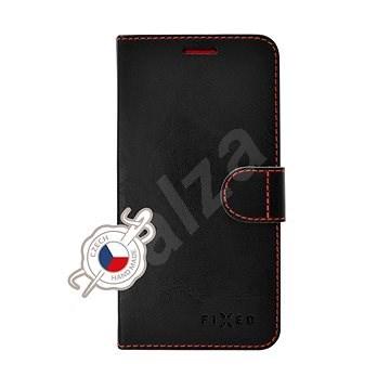 FIXED FIT tok Xiaomi Redmi Note 7/7 Pro készülékhez, fekete - Mobiltelefon tok