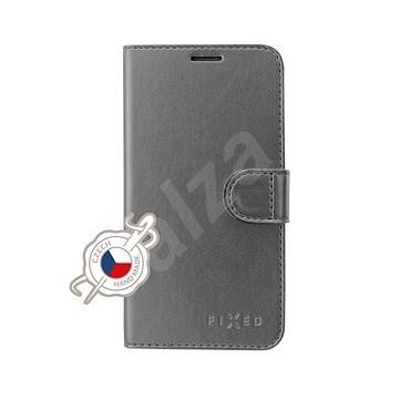 FIXED FIT Shine tok Samsung Galaxy A40 készülékhez, antracit - Mobiltelefon tok