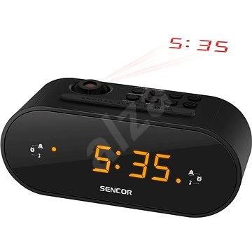 Sencor SRC 3100 fekete - Rádiós ébresztőóra