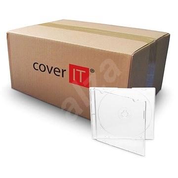 Vékony doboz 1db - tiszta (átlátszó), 5,2 mm-es - CD/DVD tok