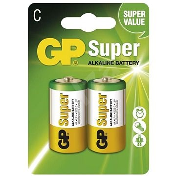 GP Super Alkaline LR14 (C) 2 darab / csomag - Eldobható elem